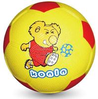 Cartoon rubber soccer ball