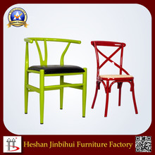 modern hotel luxury Pu leather dining room chair