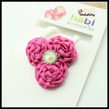 TLLC-48 BABY SMALL ROSE FLOWER HAIRBAND BABY HEADBAND WHOLESALE