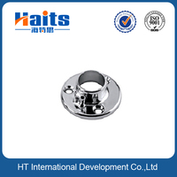 wardrobe Flange tube support,hanging tube connecting rod,closet door fittings