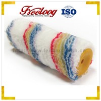 Rainbow colors wall paint roller, oil decorative painting brush roller