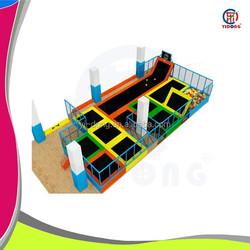 high quality sky zone indoor trampoline park