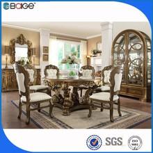 elegant dining room furniture set/antique white furniture dining room sets/neoclassical dining room furniture