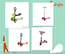 EN17/CE approved HOT SALE 3 Wheels Funy Mini Scooter kick scooter For child JT-MG01