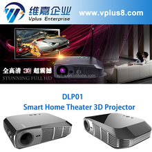 Vplus DLP01-2 Samrt Android Projector smart full HD 3D LED projector/computer 3D home theater