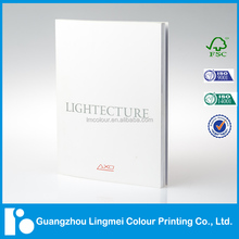 Quality Custom Colorful Lighting Product Catalog Printing