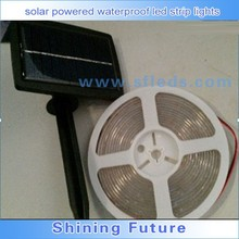 Manufacturers supply solar powered waterproof led strip lights LED soft light strip 5 meters