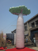 giant Christmas inflatable tree of breadfruit tree for out door decoration