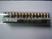 heavy duty R6 aa size 1.5v battery