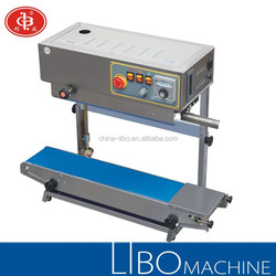 DBF-900 Stainless Steel Plastc Bag Band Sealer / Vertical Type Continuous Band Sealer