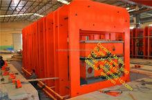 CE Certification Rubber Tile Vulcanizing press , rubber plate vulcanizer ,rubber curing press sheet cutting machine