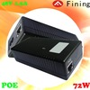 72W POE power supply 48V 1.5A PoE adapter used in wireless AP layout transmission