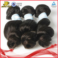 JP Hair Machine Weft Romance Curl Remy Indian Micro Braid Hair Extensions
