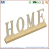New cheap unfinished wooden alphabet letters wholesale