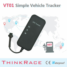 2015 Thinkrace Easy Install vehicle tracking system VT01 support remote power cut-off/car gps/car tracking/vehicle gps tracker