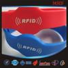 MDW70 Customized rfid wristband/passive rfid silicone wristbands