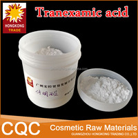 Manufacturers wholesale has whitening efficacy hight quality tranexamic acid , CAS No: 1197-18-8, tranexamic acid cosmetic grade