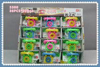 YiWu market factory directly sale telephone model Promotional 3d Erasers