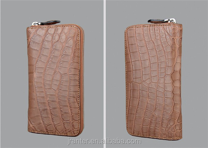 women leather wallet high quality crocodile leather luxury wallet for women_8
