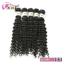 XBL Fast Delievery 7A Grade Hot Sale Chemical Free 2012 hair weaves