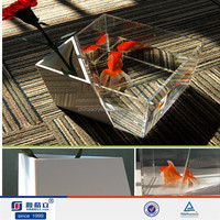 Hot sale! Acrylic fancy fish tank/small fish tank /fish tank flower vase
