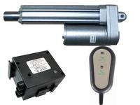 12v or 24v dc motor ip65 small linear actuator lightweight use