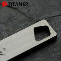 TITANER everyday carry titanium pet tag custom pet dog tags creative medical id