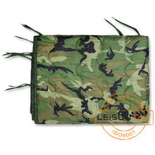 Military Camouflage Poncho Liner for Army or Tactical use