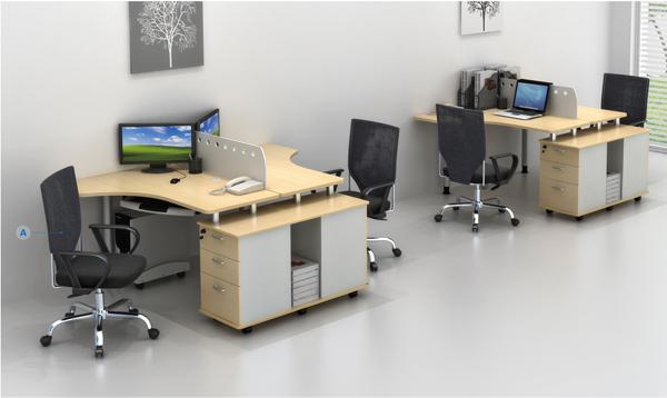 2 person office partition workstation home office computer desk workstaton gf007 2b buy. Black Bedroom Furniture Sets. Home Design Ideas