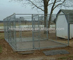 10ft long Extra Large Chain Link Dog Run Kennel
