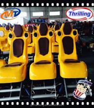 Electric platform 5D cinema luxury fiberglass seats, best quality electric 5d 9d 11d cinema 12d cine equipment