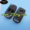 Topbest flip cover with toy43 blade for key toyota corolla toyota 2 button flip key shell