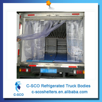 mini/ low price refrigerated cargo truck