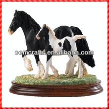 Border Art Decor Classic Design Mare and Foal