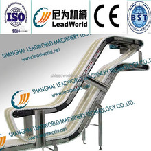 Steel conveyor,conveyor belt equiped with for the production line