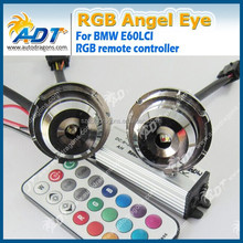 New Car Light 20W RGB Angel Eye for BMW E92 E39 E90 E90LCI E60 E60LCI, Wifi RGB Angel Eye for BMW with Remote Controller