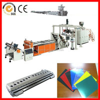 plastic sheet extusion machine for PS/PC/HIPS/PP/PE/PET/ABS