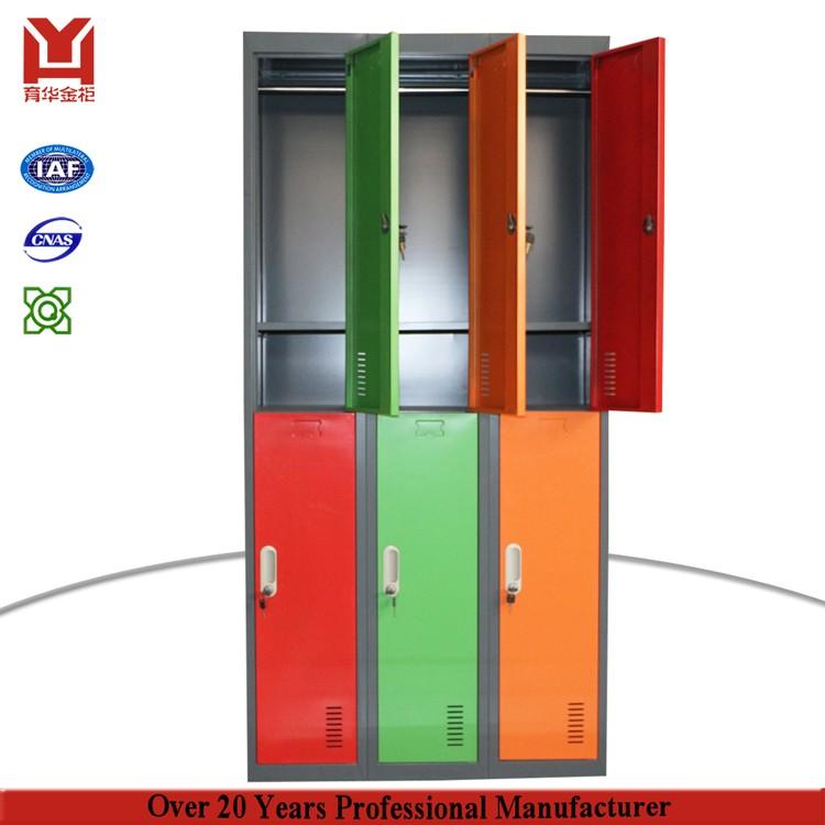 6 deur kleren kast metalen gym kleedkamer locker andere opvouwbare meubels product id - Aangepaste kast ...