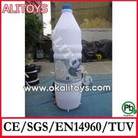 Custom giant inflatable bottle models, beer bottle model, strong PVC inflatables for advertising wholesale