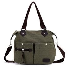 New Fashion European Style Women Lady canvas Shoulder Bag Handbag SV016666