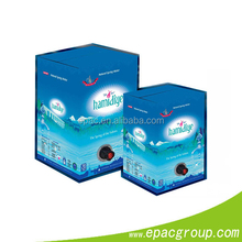 FDA,BPA Free Approval! flexible packaging solution bag in box for egg liquid, wine .juice,edible oil.drinking water,met