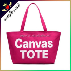 cheap Customized printing wholesale canvas tote bag