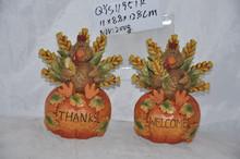 Resin/Polyresin harvest pumpkin celebration decoration