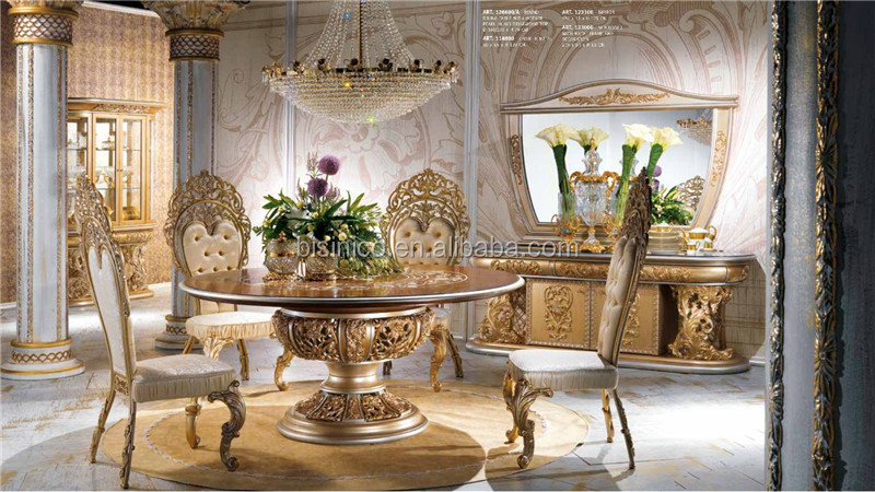 Nouveau rond table manger avec lazy susan luxe grande for Salle a manger de luxe en bois