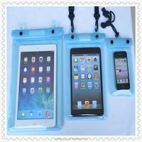 Waterproof Landyard Plastic Protective Bag With Compass For iPad Mini Mini2