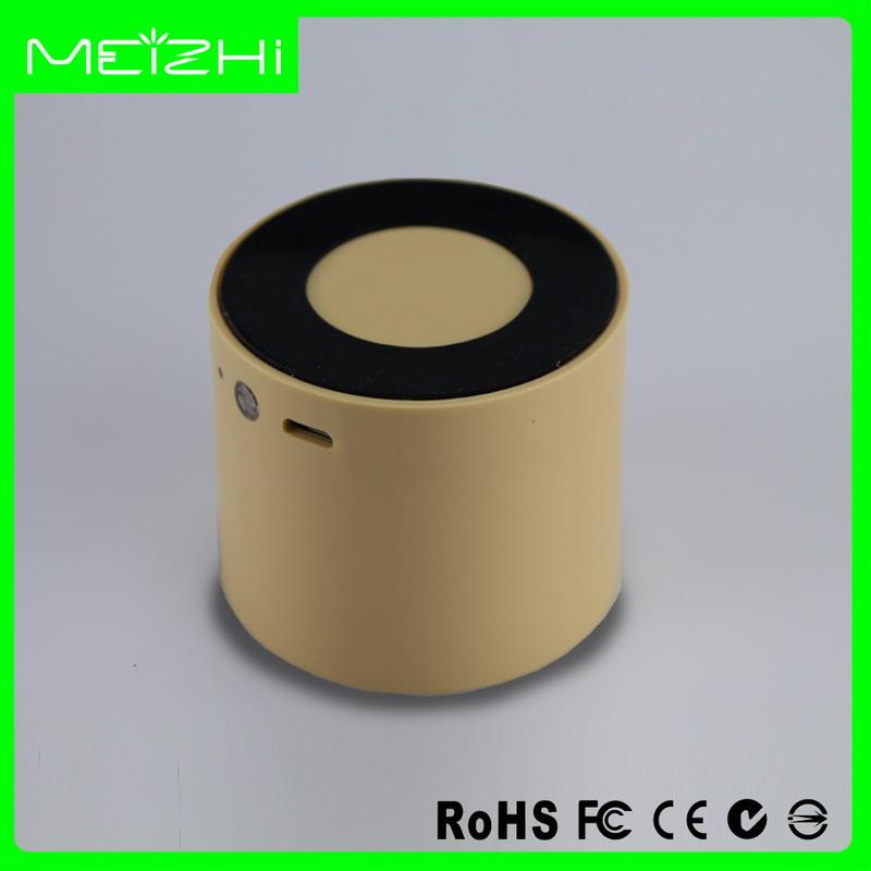 Plein d'impression personnalisée ronde cylindre mini Bluetooth haut-parleur pour la promotion cadeau