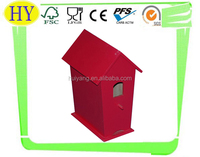 custom cheap wooden craft bird house wholesale