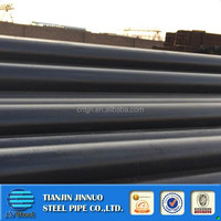 ASTMA106 cold drawn small diameter thick wall bare surface cap on head alloy seamless steel tube