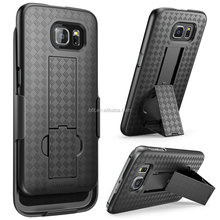 Galaxy S6 Case, Transformer Hard Shell Holster Case Combo with Kickstand and Locking Belt Swivel Clip for Samsung galaxy s6