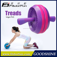 2015 Trending Hot Porducts Waist Trainer Multi Gym Equipment Fitness Abdominal Abs Wheels